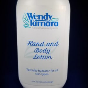 hand and body lotion acne safe unscented