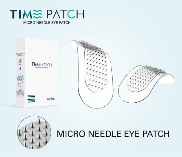 TimePatch microneedle eye patch olympia